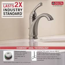 Pex To Faucet Connection Faucet Com 15999 Dst In Chrome By Delta