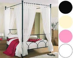 pink 4 poster bed 11 best girls beds images on pinterest four