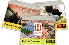 customized express envelopes ups