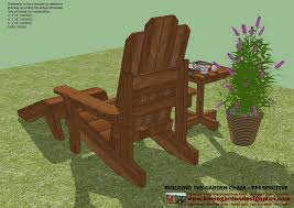 Free Plans For Garden Chair by Home Garden Plans Gc101 Garden Chair Plans Out Door Furniture