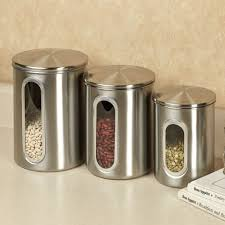 metal kitchen canisters kitchen vintage metal canisters jar canister set glass