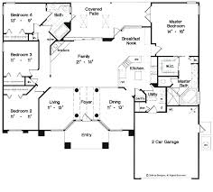single storey house plans 5 bedroom single story house plans koszi club