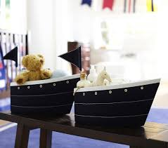 Changing Table For Baby Fabric Sailboat Changing Table Storage Pottery Barn