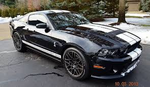 black 2013 mustang gt buy 2013 shelby gt 500 mustang coupe black on black w white