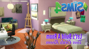 Sims 4 Furniture Sets Teens Room The Sims 4 Room Build Girls Bedroom Youtube With