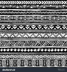 black and white tribal navajo seamless pattern aztec geometric