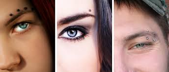 Eyebrow Piercing Without Jewelry Take All About Eyebrows Bodycandy