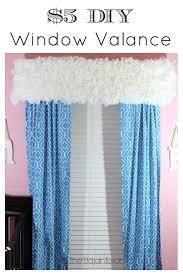 Window Valance Patterns by 5 Easy Diy Window Treatments