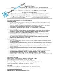Computer Technician Resume Sample Radiography Resume Resume Cv Cover Letter
