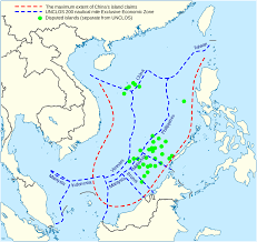 Map Of Mediterranean Sea Territorial Claims In The South China Sea Visualized On A Map