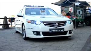 cars honda accord medical car honda accord light show whelen 3 youtube