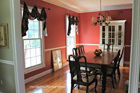 dining room decoration furniture curtains awesome rounded