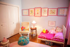 Bedroom Pink And Blue Eclectic Pink And Blue Toddler Girls Room Project Nursery