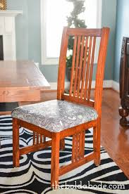 Reupholstering A Dining Room Chair 4 Quick Tips For Making Recovering Dining Room Chairs Easier Than