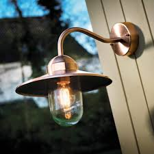lamp copper landscape lighting copper porch light brass outdoor
