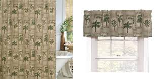 palm tree bathroom decor walmart set etched glass office and