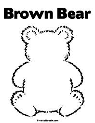 teddy bear coloring sheets polar bear color sheet