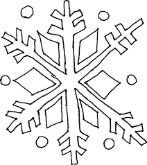 coloring pages draw a snowflake coloring page blog