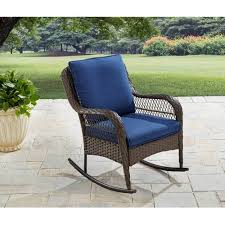 Patio Rocking Chair Outdoor Rocking Chairs Walmart