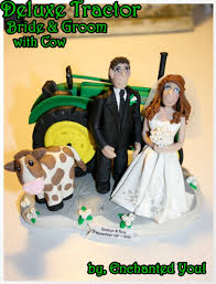 tractor wedding cake topper tractor cake toppers wedding cakes idea in 2017 wedding