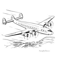 printable coloring page airplane archives mente beta most