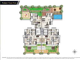 podium floor plan 2 bedroom luxurious residences at the magnificent nivan khar