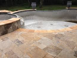 travertine pool deck colors design and ideas