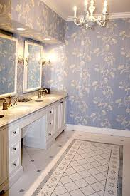 attractive wall borders for bathrooms 2 create a mosaic throw rug