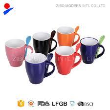 ceramic mug with spoon holder ceramic mug with spoon holder