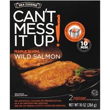 cuisine discount dijon sea cuisine can t mess it up maple dijon salmon from mariano s