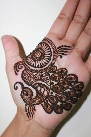 and stylish one line mehndi designs for