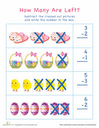 subtraction subtraction worksheets cross out pictures free
