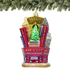 radio city rockette and soldier ornament