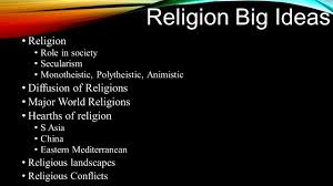 religion review ch 7 religion big ideas religion in society