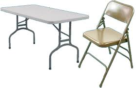 tables and chair rentals on line catalog