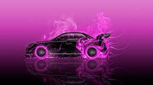 pink subaru subaru impreza wrx sti tuning jdm side fire car 2016 wallpapers el
