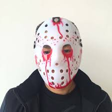 2017 new funny halloween masquerade thickening jason mask terror