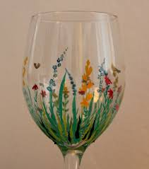 wine glass painting designs best 25 painted wine glasses ideas on