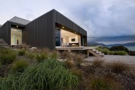 ngaio house by colab architecture colabarch co nz black houses