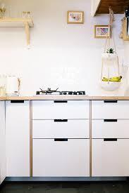 Ikea Kitchen Cabinet Construction Bespoke Plywood Doors For Ikea Kitchen Cabinets U2014 Heart Home
