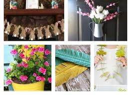 diy spring decorating ideas 60 easy and fun diy spring decor ideas to bring fresh breath into