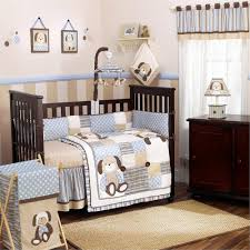Baby Boy Crib Bedding Set Scruffy Puppy Boys Crib Bedding And Accessories Beds And