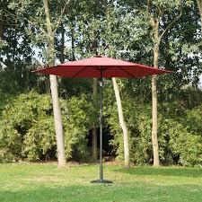 Patio Gazebos And Canopies by Outsunny 9ft Aluminum Patio Umbrella Garden Outdoor Parasol
