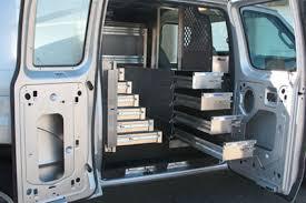 Ford Van Interior Van Shelves For Ford Vans Ranger Masterack Stonebrooke Equipment
