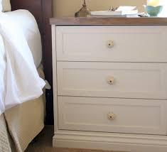 nightstand attractive rast final tarva nightstand hack bedside