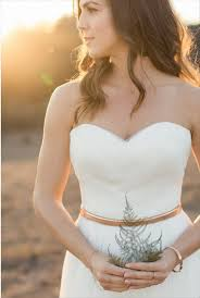 strapless country style wedding dress ladiesdg
