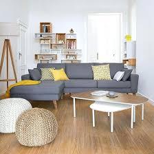 coussin canapé gris coussin deco canape pouf rond tressac bisho coussin decoratif pour