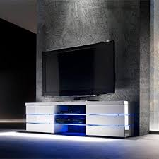 replacing led lights in tv vienna high gloss tv unit with rgb colour change led lighting