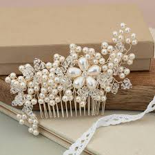 bridal hair combs best of parl hair combs for wdding