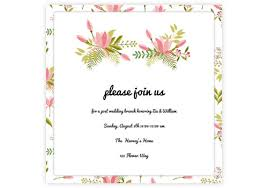online marriage invitation card online wedding invitations for the modern sendo